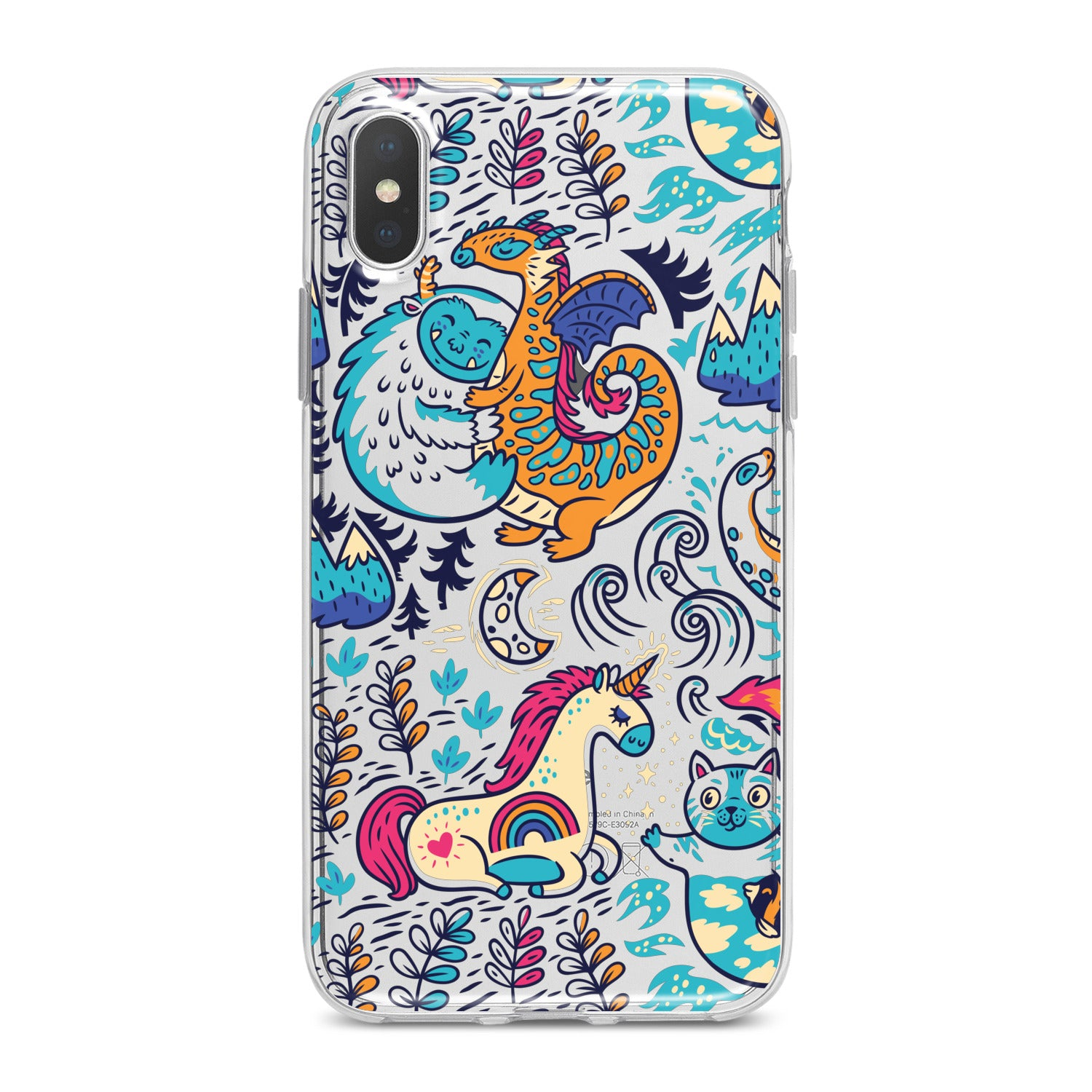 Lex Altern Magic Animals Phone Case for your iPhone & Android phone.