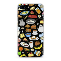 Lex Altern TPU Silicone Phone Case Chef Food Pattern