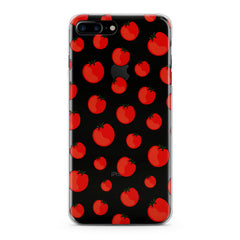 Lex Altern TPU Silicone Phone Case Bright Tomatoes
