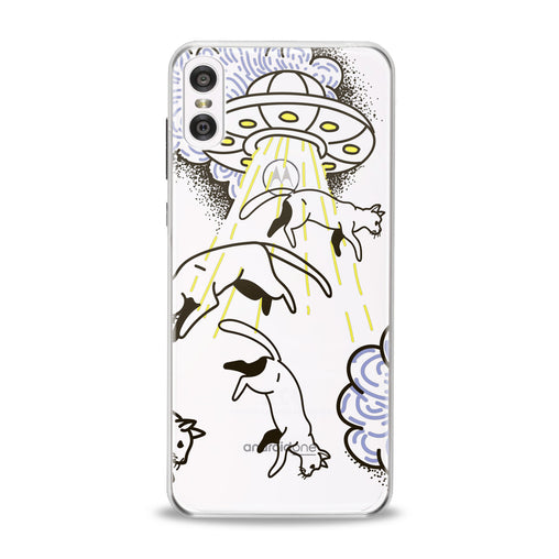 Lex Altern Alien Cats Motorola Case