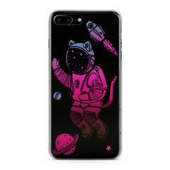 Lex Altern TPU Silicone Phone Case Cat Astronaut