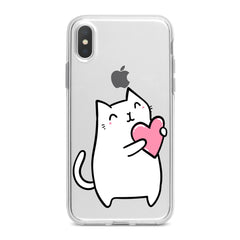 Lex Altern White Lovely Feline Phone Case for your iPhone & Android phone.