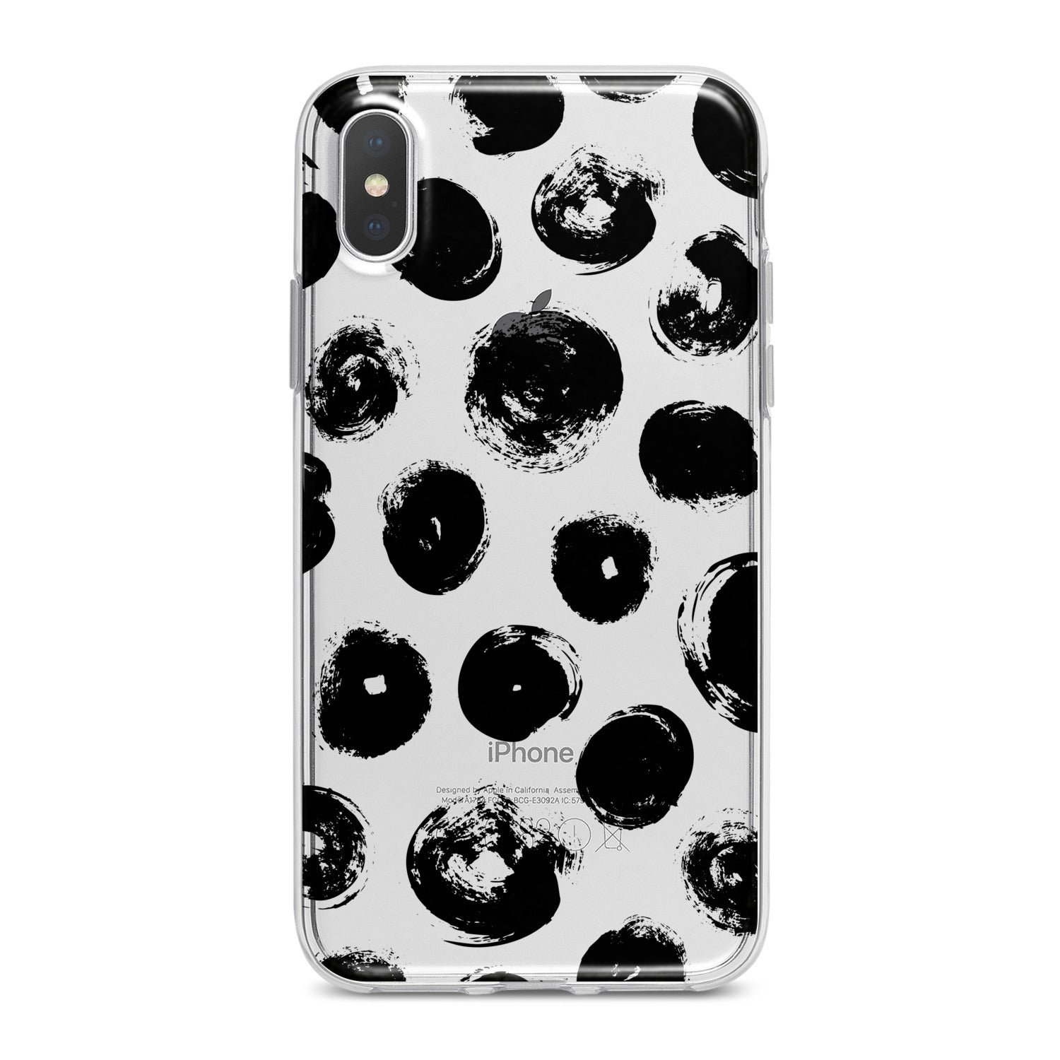 Lex Altern Black Artwork Phone Case for your iPhone & Android phone.