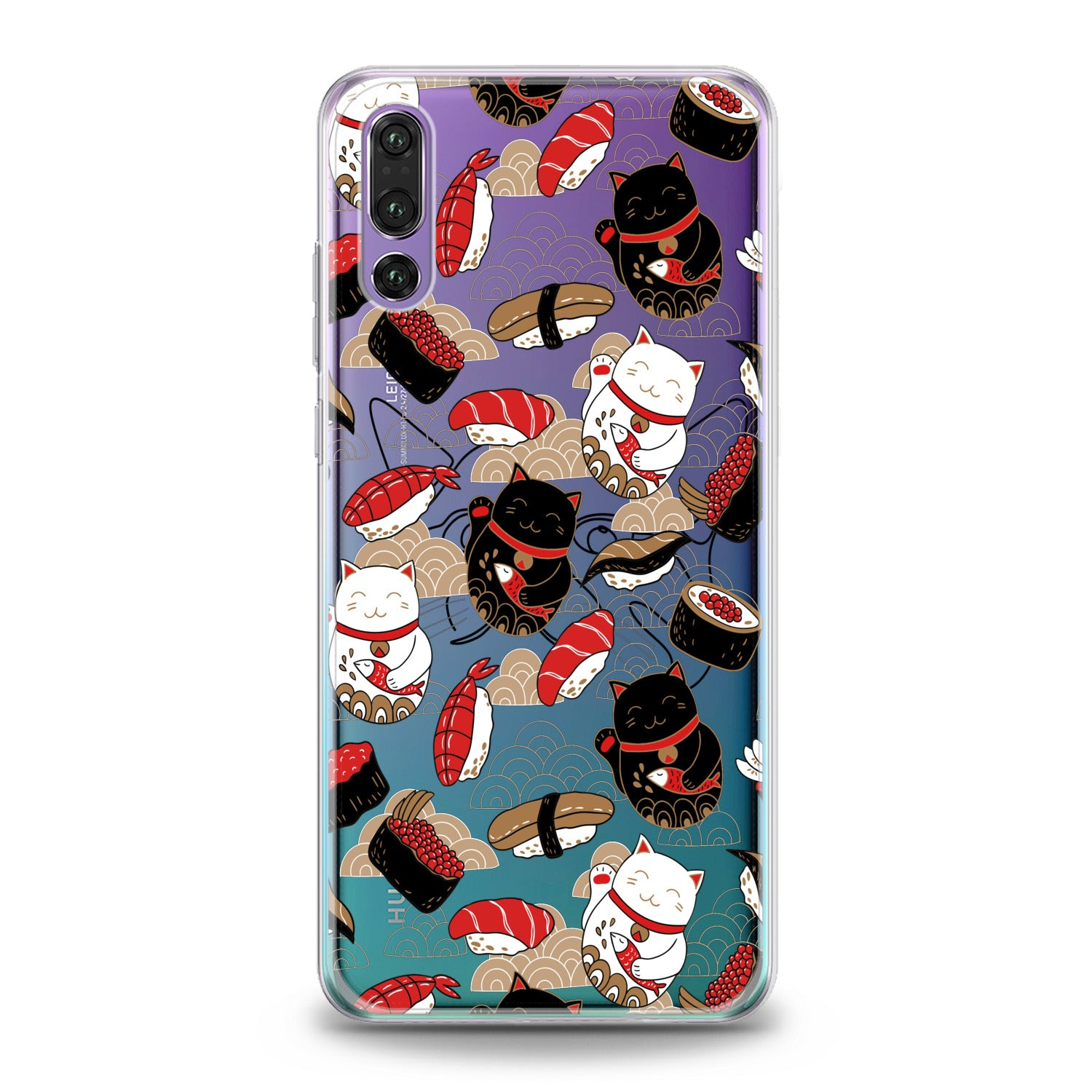 Lex Altern Japanese Cats Huawei Honor Case
