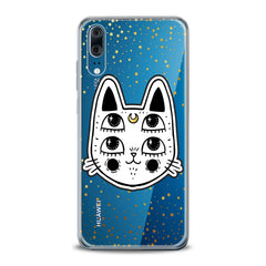 Lex Altern TPU Silicone Huawei Honor Case Kawaii Boho Cat