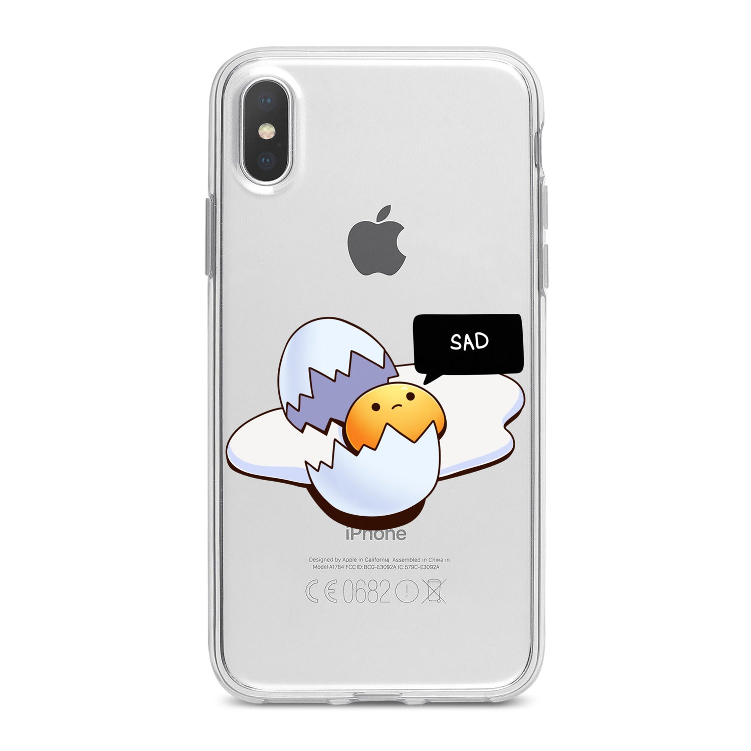 Lex Altern Broken Egg Phone Case for your iPhone & Android phone.