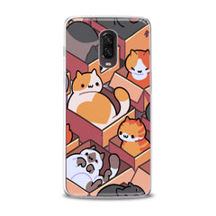 Lex Altern TPU Silicone Phone Case Cats in Boxes
