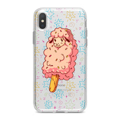Lex Altern TPU Silicone Phone Case Cute Lamb Ice Cream