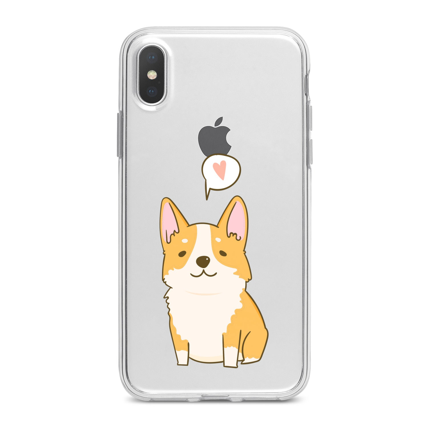 Lex Altern Cute Baby Corgi Phone Case for your iPhone & Android phone.