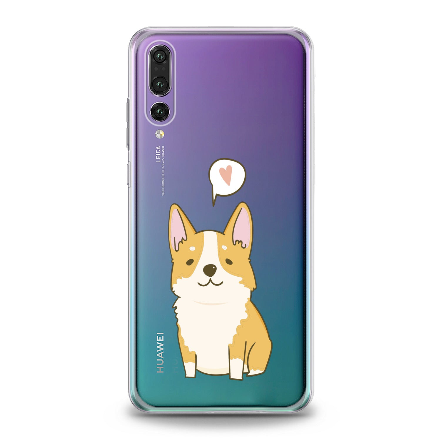 Lex Altern Cute Baby Corgi Huawei Honor Case