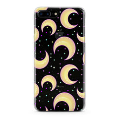 Lex Altern Cute Moon Pattern Phone Case for your iPhone & Android phone.