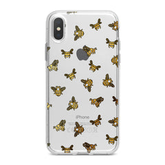 Lex Altern Honeybee Pattern Phone Case for your iPhone & Android phone.