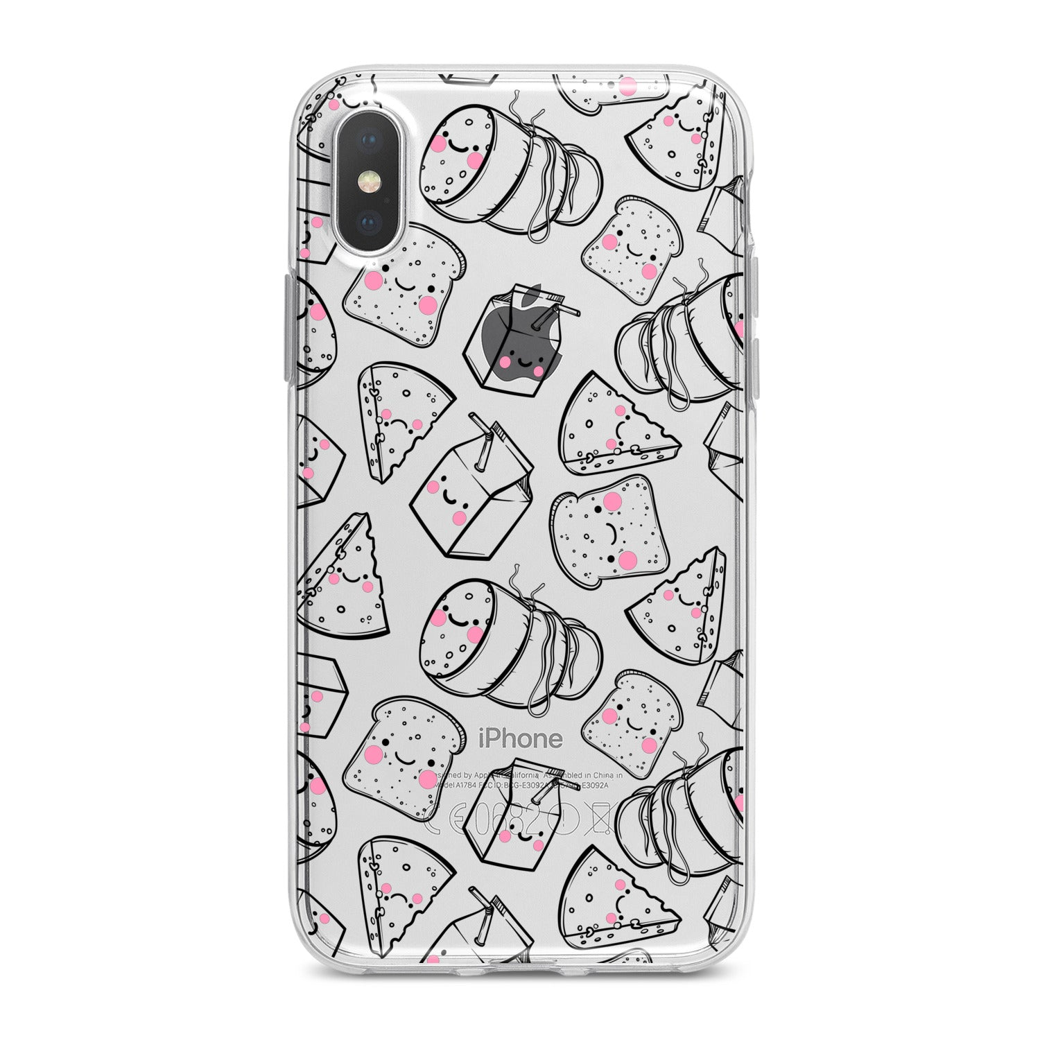 Lex Altern Food Graphic Phone Case for your iPhone & Android phone.