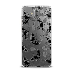 Lex Altern TPU Silicone Phone Case Black Koi Fish