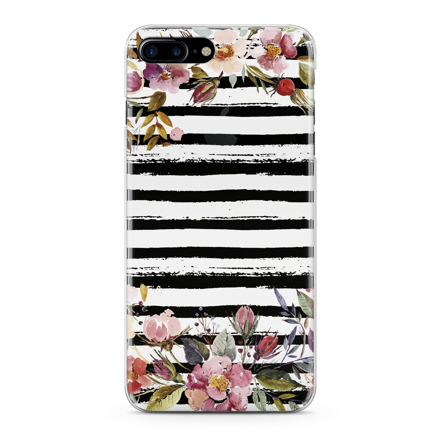 Lex Altern Watercolor Spring Flowers Phone Case for your iPhone & Android phone.