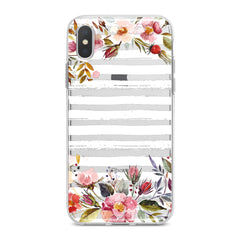 Lex Altern TPU Silicone Phone Case Watercolor Spring Flowers