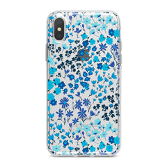 Lex Altern Cute Blue Flowers Phone Case for your iPhone & Android phone.