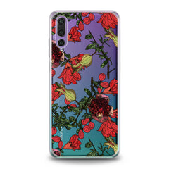 Lex Altern Red Garnet Blossom Huawei Honor Case