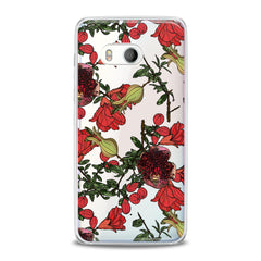 Lex Altern Red Garnet Blossom HTC Case
