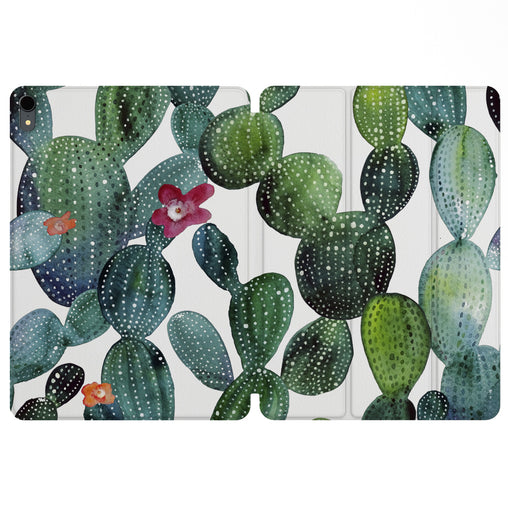 Lex Altern Magnetic iPad Case Cactus Pattern for your Apple tablet.