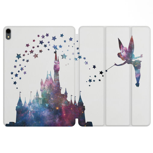 Lex Altern Magnetic iPad Case Fairy Castle for your Apple tablet.
