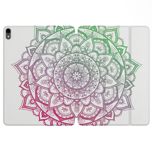 Lex Altern Magnetic iPad Case Special Mandala for your Apple tablet.