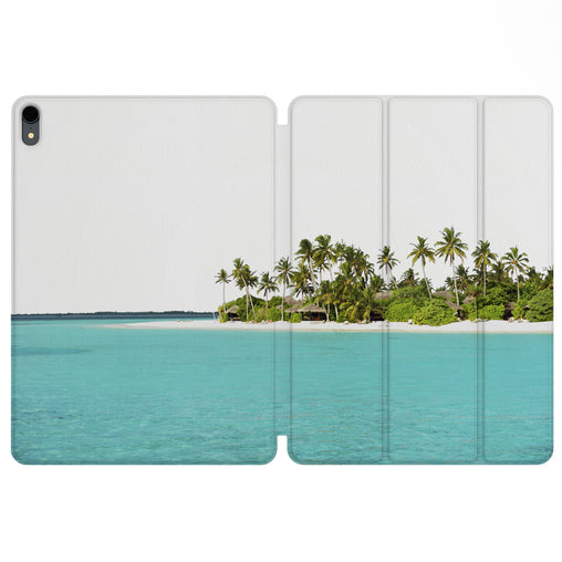 Lex Altern Magnetic iPad Case Palms Beach for your Apple tablet.