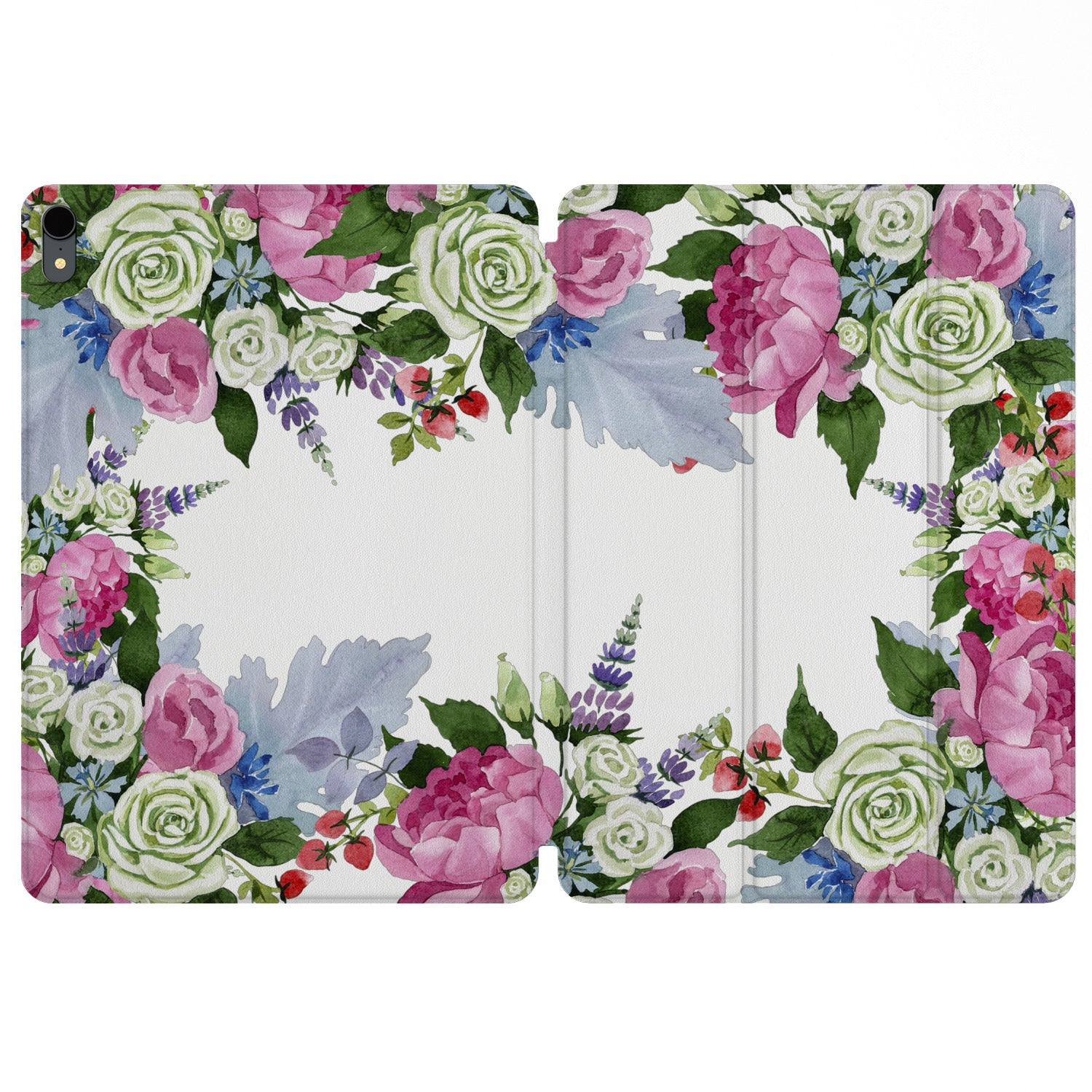 Lex Altern Magnetic iPad Case Spring Blossom for your Apple tablet.