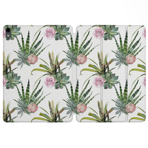 Lex Altern Magnetic iPad Case Exotic Plants for your Apple tablet.
