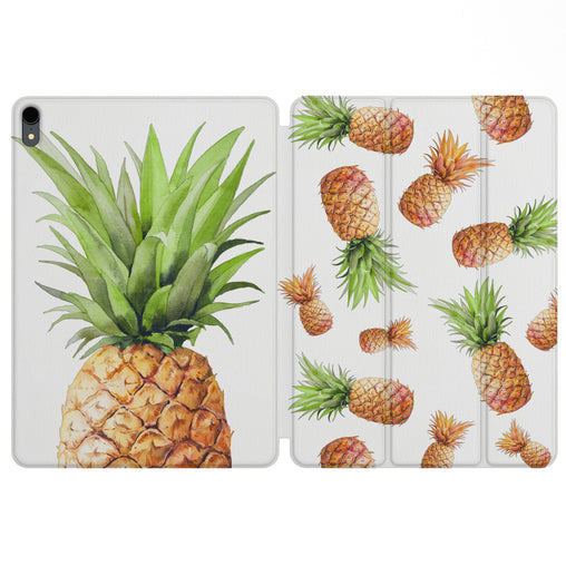 Lex Altern Magnetic iPad Case Pineapple Design for your Apple tablet.