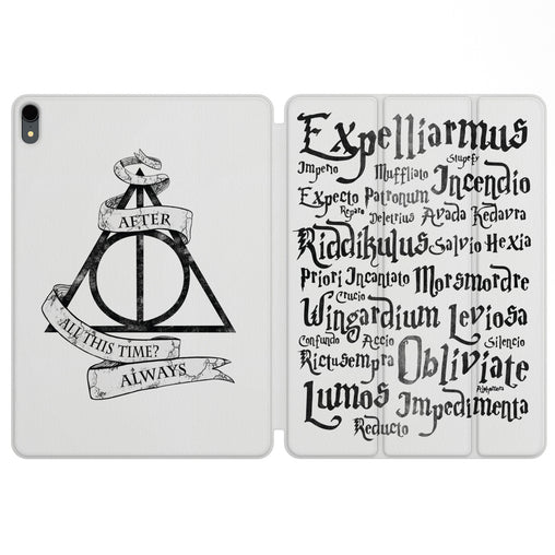 Lex Altern Magnetic iPad Case Deathly Hallows for your Apple tablet.