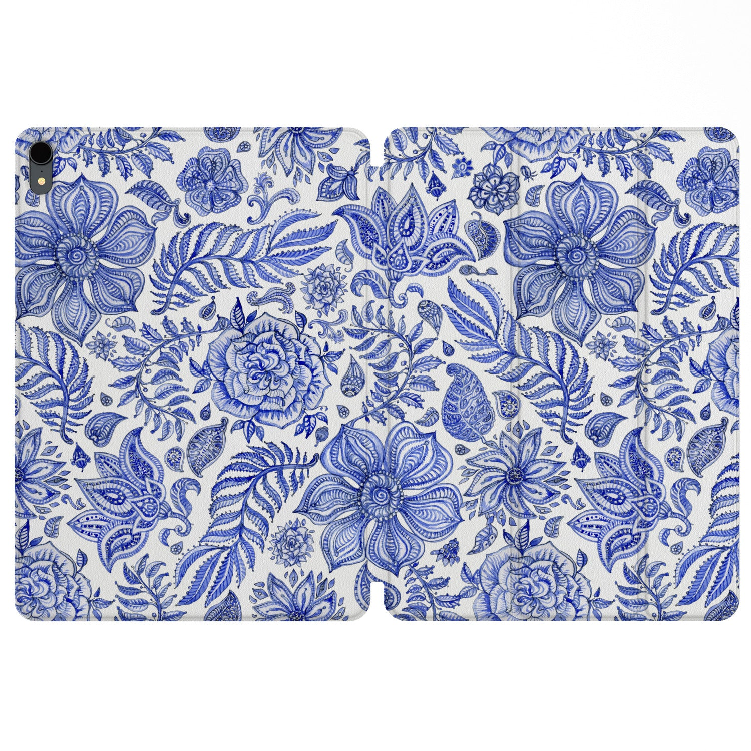 Lex Altern Magnetic iPad Case Oriental Flowers for your Apple tablet.