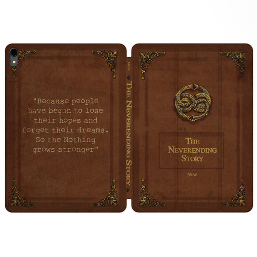 Lex Altern Magnetic iPad Case The Neverending Story for your Apple tablet.