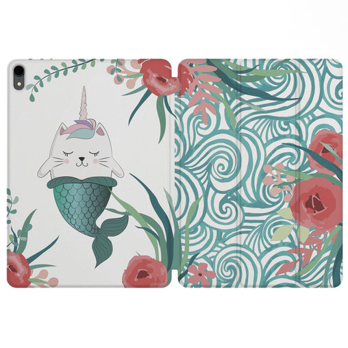 Lex Altern Magnetic iPad Case Kawaii Caticorn for your Apple tablet.
