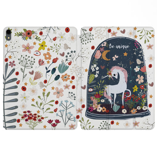 Lex Altern Magnetic iPad Case Fairytale Unicorn for your Apple tablet.