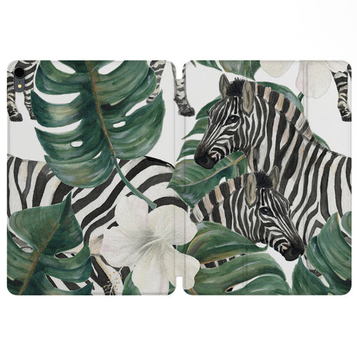 Lex Altern Magnetic iPad Case Exotic Zebra for your Apple tablet.