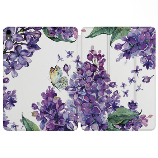 Lex Altern Magnetic iPad Case Spring Lilac for your Apple tablet.