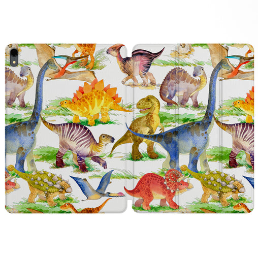 Lex Altern Magnetic iPad Case Dino Pattern for your Apple tablet.