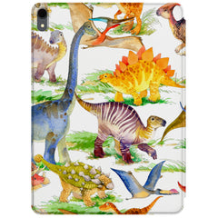 Lex Altern Magnetic iPad Case Dino Pattern