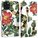 Lex Altern iPhone Wallet Case Botanical Viper Wallet