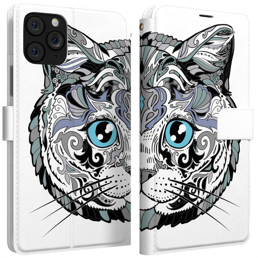Lex Altern iPhone Wallet Case Fancy Cat Wallet