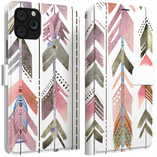 Lex Altern iPhone Wallet Case Indian Feathers Wallet