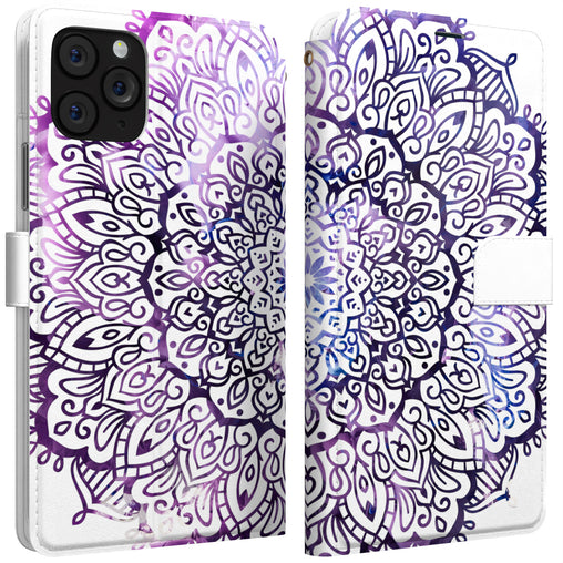 Lex Altern iPhone Wallet Case Galaxy Mandala Wallet