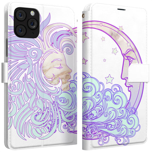 Lex Altern iPhone Wallet Case Celestial Moon Wallet
