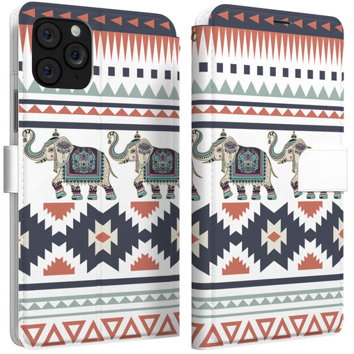 Lex Altern iPhone Wallet Case Tribal Elephant Wallet