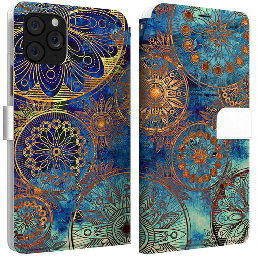 Lex Altern iPhone Wallet Case Antique Mandala Wallet
