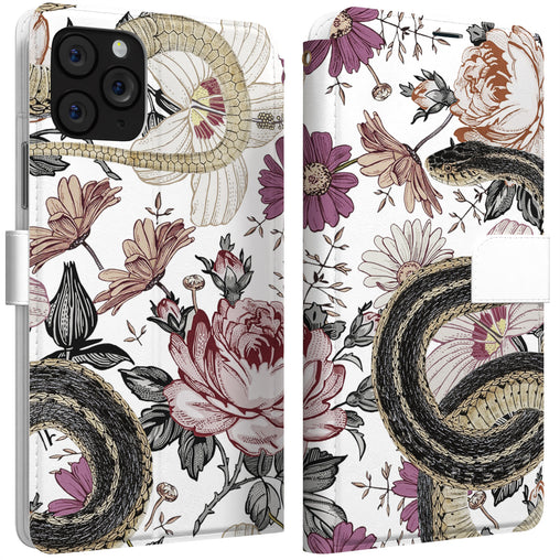 Lex Altern iPhone Wallet Case Daisy Snake Wallet