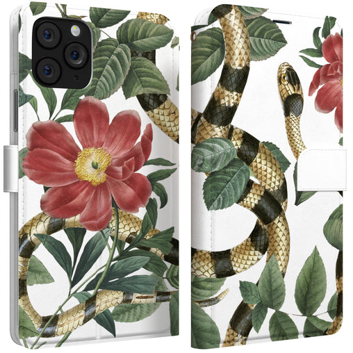 Lex Altern iPhone Wallet Case Rainforest Serpent Wallet