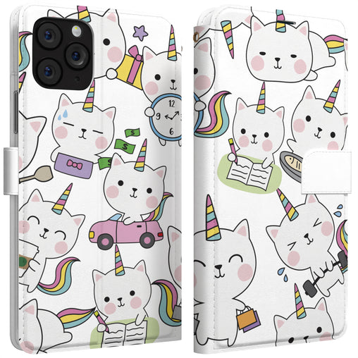 Lex Altern iPhone Wallet Case Kawaii Caticorn Wallet