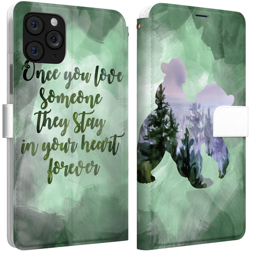 Lex Altern iPhone Wallet Case Bear Quote Wallet